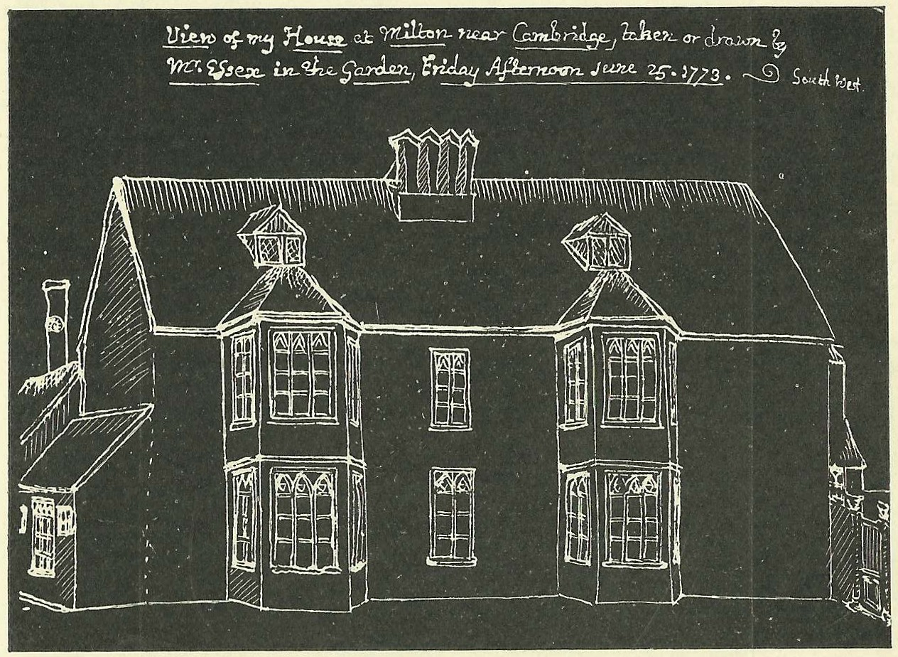 Drawing of Milton House