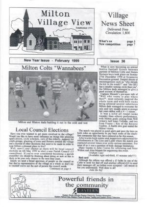 VV Issue 36 Feb 1999