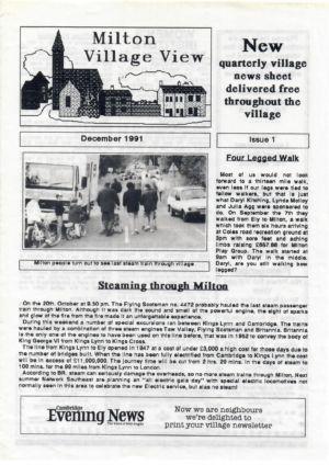 Village View Issue 1 Dec 1991